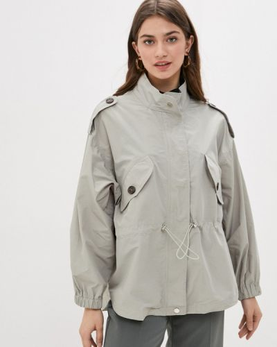 Облегченная зеленая куртка B.style