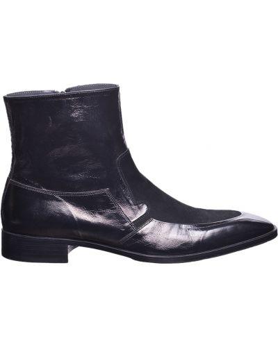 Черные сапоги Giovanni Conti