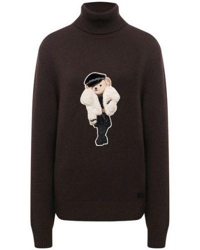 Кашемировый свитер - коричневый Ralph Lauren