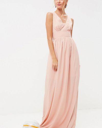 Бежевое платье весеннее Tutto Bene