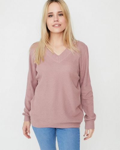 Пуловер - розовый Прованс