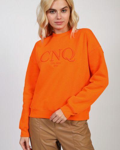 Хлопковый пуловер Cinque