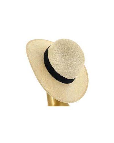 Бежевая шляпа летняя Federica Moretti