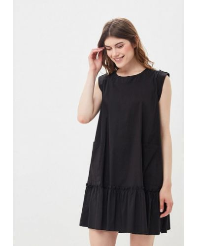 Черное платье прямое Imperial