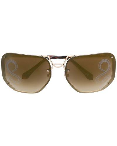 Солнцезащитные очки металлические Roberto Cavalli