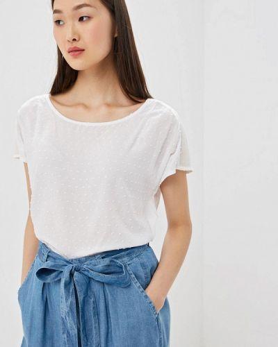 Блузка без рукавов белая весенний Top Secret