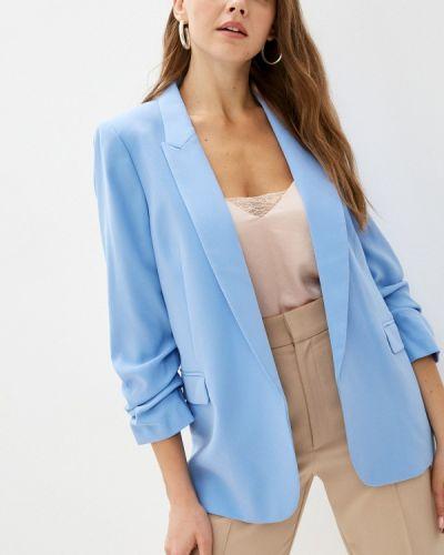 Голубой пиджак летний Marks & Spencer