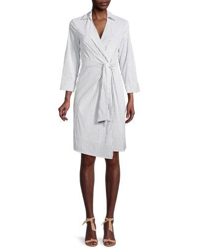 Sukienka długa z długimi rękawami - biała Bailey 44