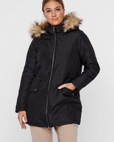 Теплая черная куртка Noisy May