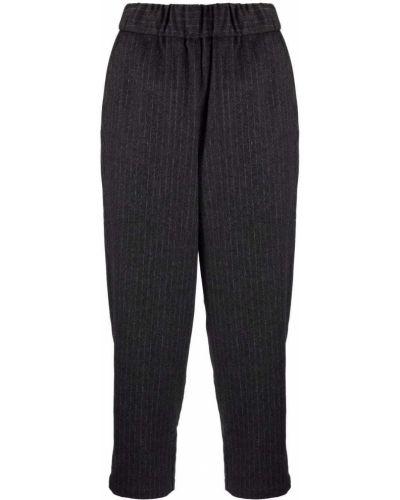 Серые укороченные брюки Barena