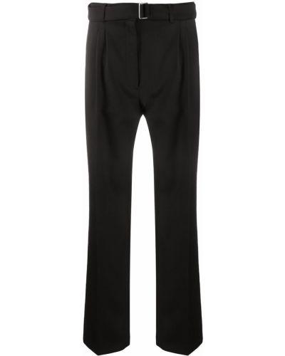 Со стрелками шерстяные черные брюки Christian Wijnants