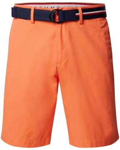 Bermudy - pomarańczowe Tommy Hilfiger