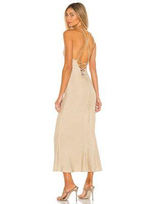 Деловое трикотажное платье с подкладкой Misha Collection