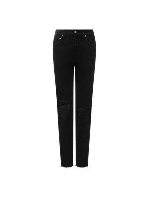 Хлопковые джинсы - черные Agolde