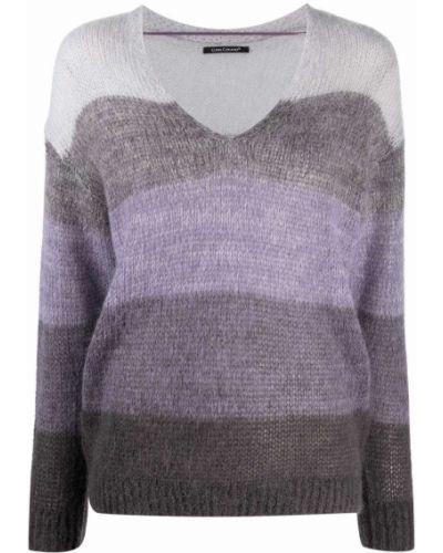 Фиолетовая кофта из альпаки Luisa Cerano