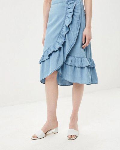 Джинсовая юбка индийский Baon