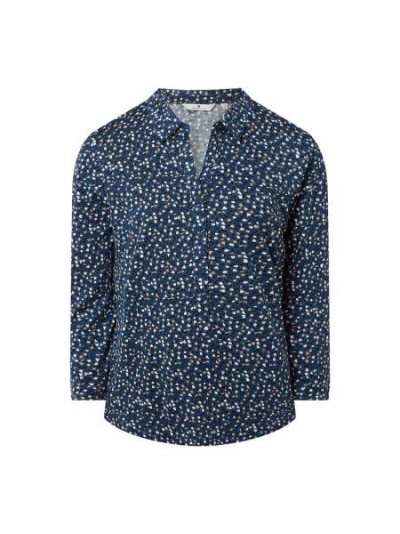 Niebieska bluzka bawełniana Tom Tailor