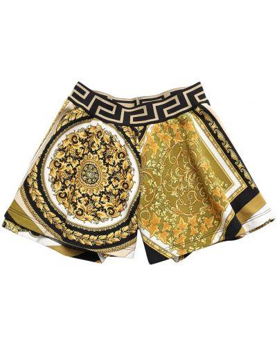 Bawełna bawełna szorty na gumce Versace