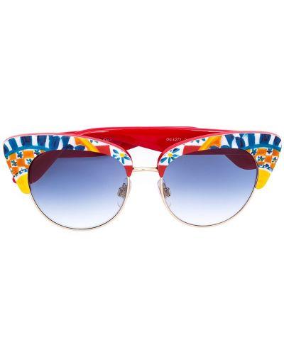 Очки кошачий глаз Dolce & Gabbana Eyewear