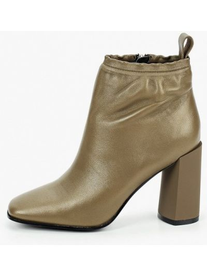 Кожаные ботинки хаки Graciana
