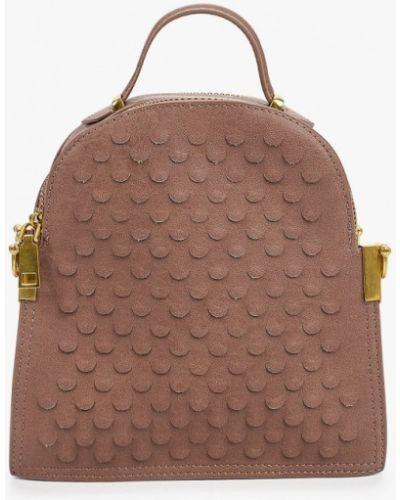 Кожаная коричневая сумка Vivian Royal
