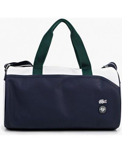 Спортивная сумка из искусственной кожи кожаная Lacoste