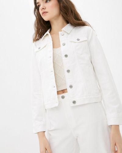 Джинсовая куртка - белая Banana Republic
