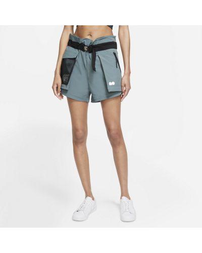 Серые деловые шорты Nike
