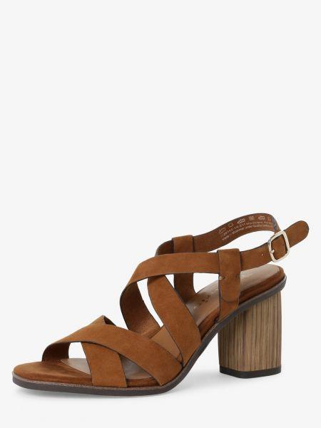 Sandały brązowy brązowy Tamaris