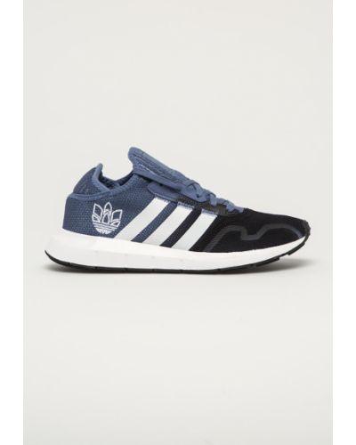 Niebieskie sneakersy sznurowane Adidas Originals