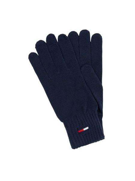 Bawełna bawełna niebieski rękawiczki prążkowany Tommy Jeans