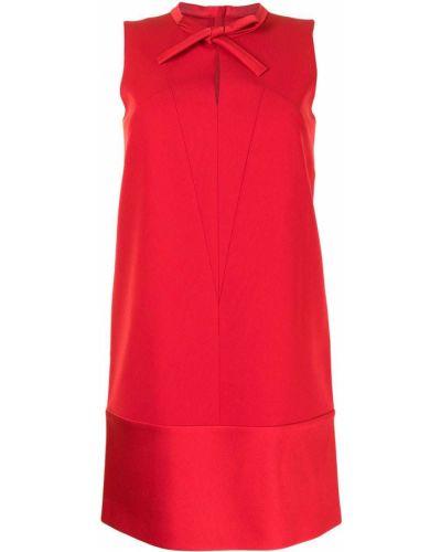 Платье мини трапеция - красное Paule Ka