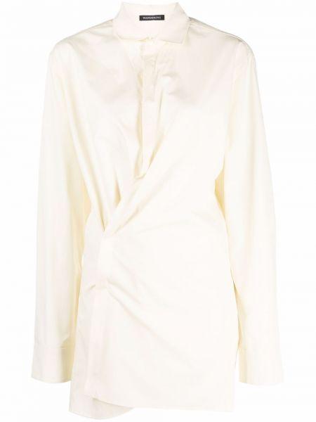 Biała koszula bawełniana Wandering