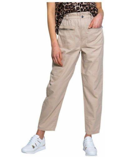 Beżowe spodnie Jacqueline De Yong