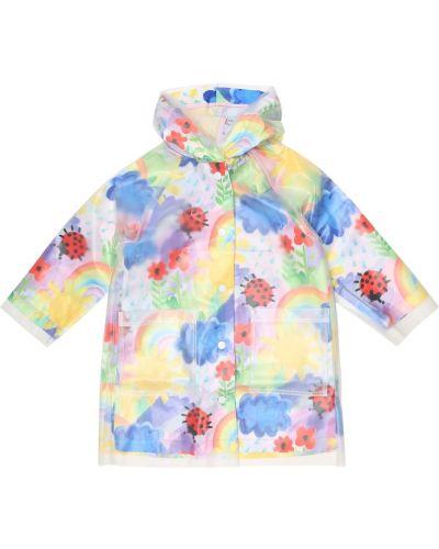 Płaszcz przeciwdeszczowy od płaszcza przeciwdeszczowego Stella Mccartney Kids