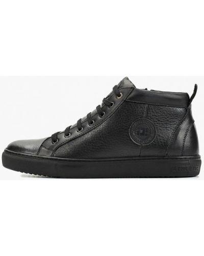 Высокие кроссовки черные Id! Collection