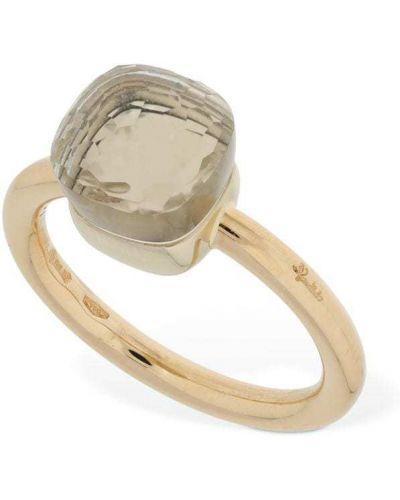 Biały złoty pierścionek Pomellato