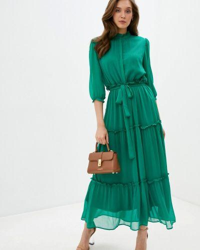 Зеленое прямое платье Top Secret