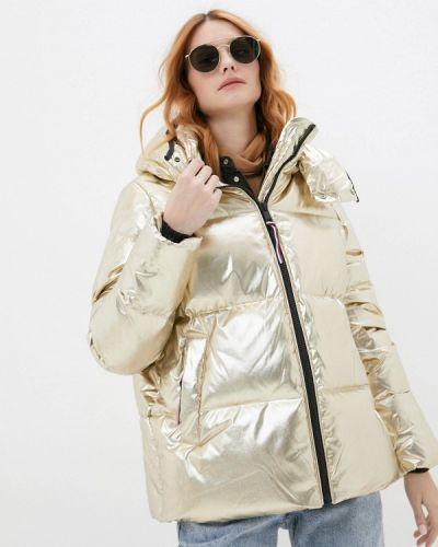 Утепленная куртка - золотая Tommy Hilfiger