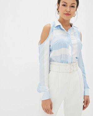 Блузка с открытыми плечами весенний Gepur