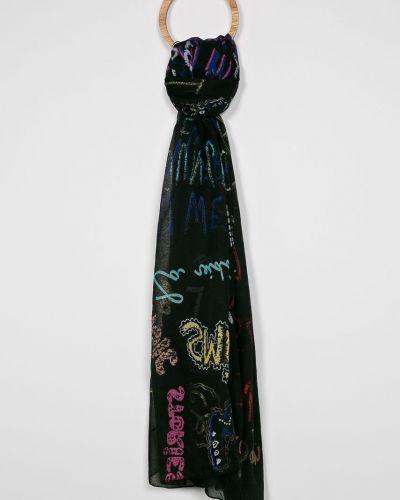 Черный шарф Desigual