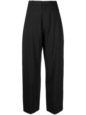 Spodnie z wysokim stanem - czarne Jacquemus