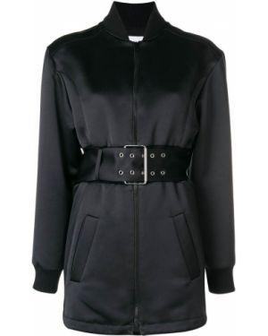 Куртка черная на молнии Versus