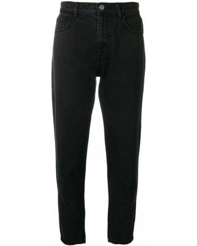 Укороченные джинсы черные Current/elliott