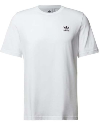 Biała t-shirt bawełniana Adidas Originals
