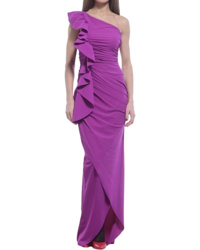 Платье осеннее фиолетовый Chiara Boni La Petite Robe