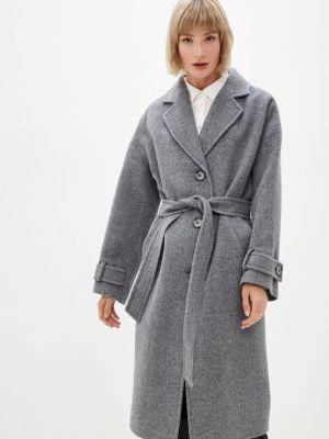 Серое зимнее пальто Shartrez