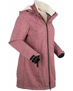 Зимняя куртка с капюшоном плюшевая Bonprix