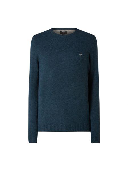 Sweter wełniany - turkusowy Fynch-hatton