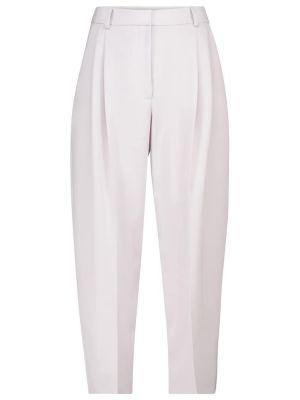 Шерстяные брюки со шлицей Stella Mccartney